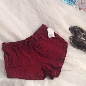 NEW Forever 21 Rust covered shorts